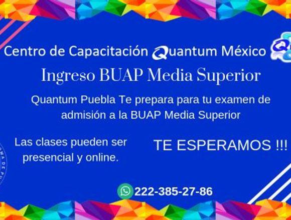 Curso de ingreso a prepa BUAP