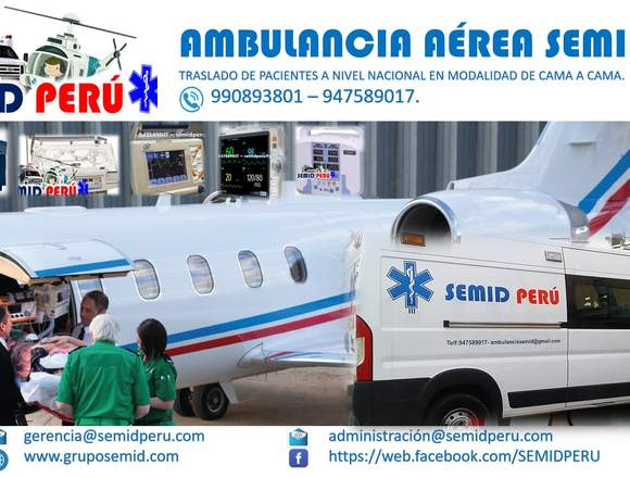 AMBULANCIA AÉREA SEMID