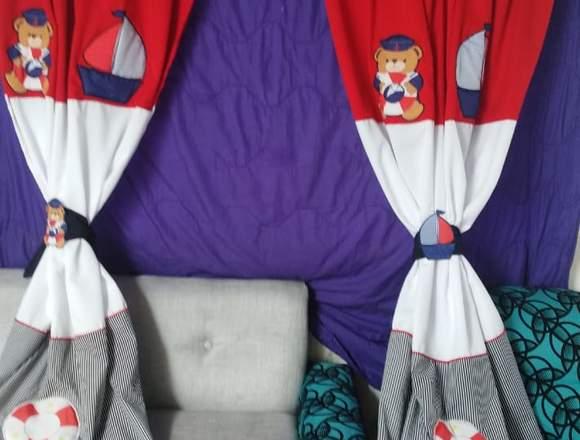 Bordados esampados y almohadas personalizadas