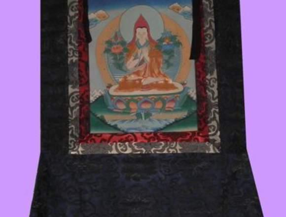 Tanka Tibetano Tson-ka-Pa Seda 80 X 50 Cm Aprox