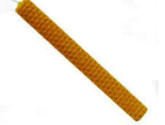 Velas miel 17x2cm precio por unidad