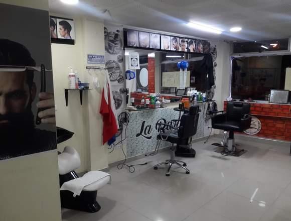 Se vende barberia y peluqueria