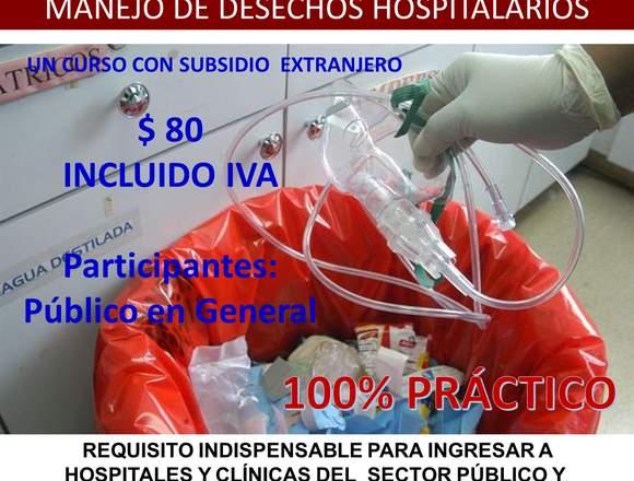 MANEJO DE DESECHOS HOSPITALARIOS QUITO 2018