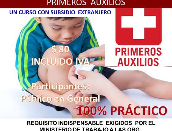 PRIMEROS AUXILIOS  QUITO 2018