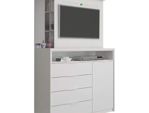 Cómoda Flavia - Panel para TV 32 pulgadas/aparador