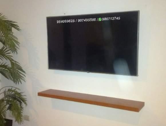 Instalación desinstalacion  de rack tv