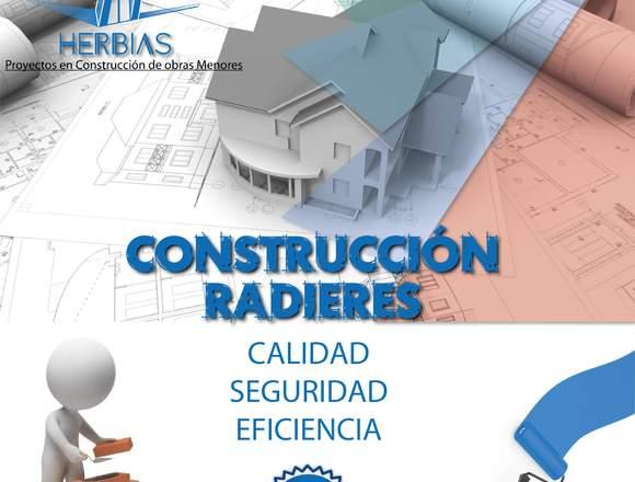 HERBIAS Construcción de Radieres