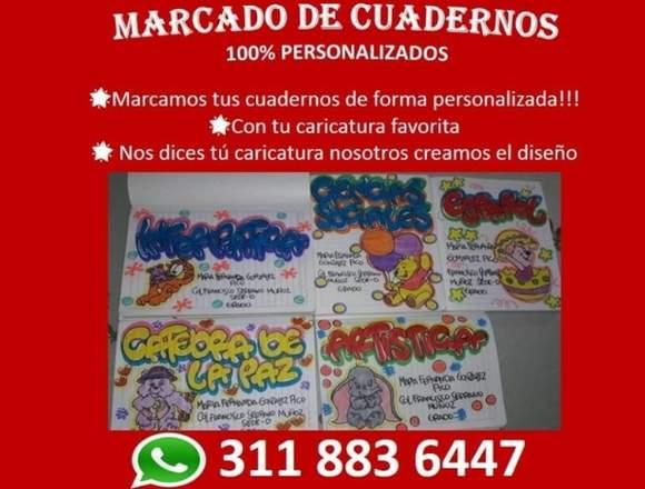 Marcada de cuadernos personalizados 3118836447