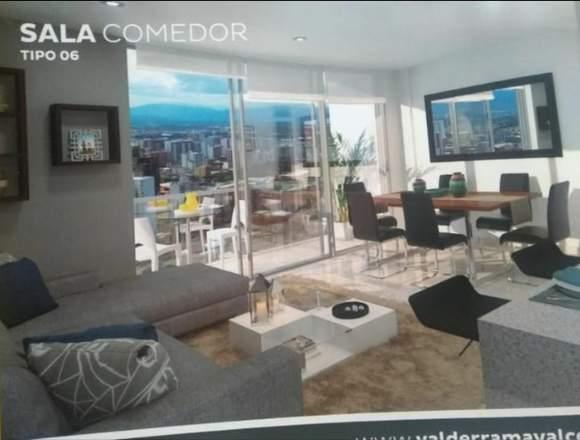 Apartamento Torre rio piso 15 área 90 metros