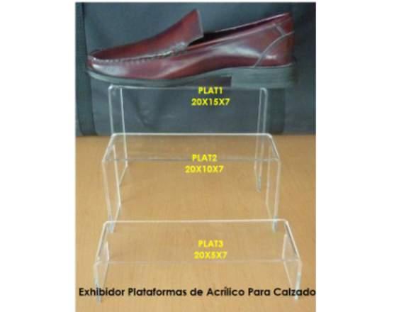 Exhibidores para zapato y gorras