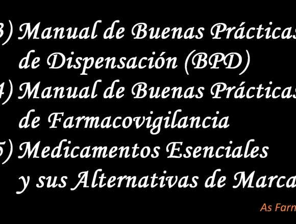 Asesoría en Apertura de Boticas y Farmacias
