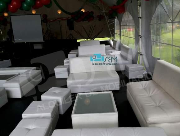Alquiler de mobiliario en Bogotá
