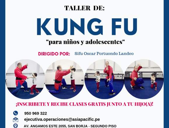 Clases de Kung Fu para niños y adolescentes