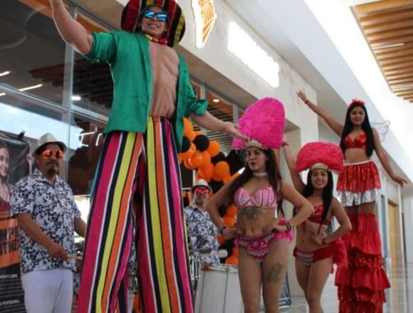Zanqueros y Batucada / Tlaxcala Shows