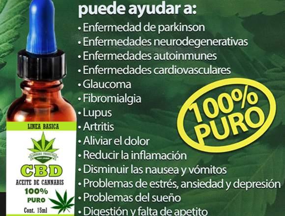 Aceite Puro de Cannabis CBD Hemp Concentrado