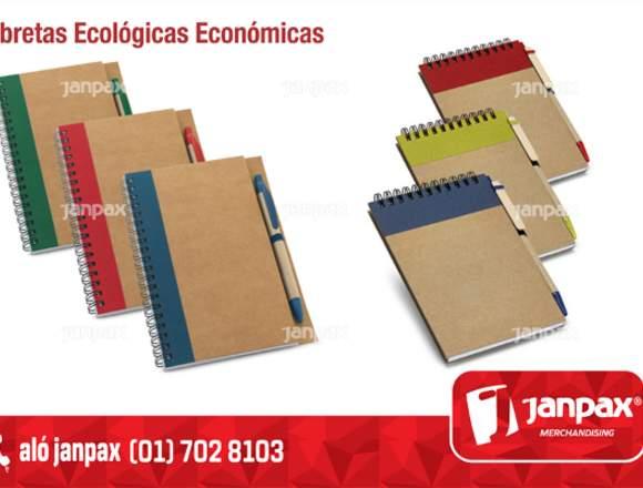 LIBRETAS ECOLÓGICAS - PUBLICIDAD EN AGENDAS