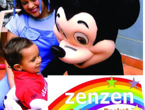 Show Infantil Zenzen Rainbow Pocket