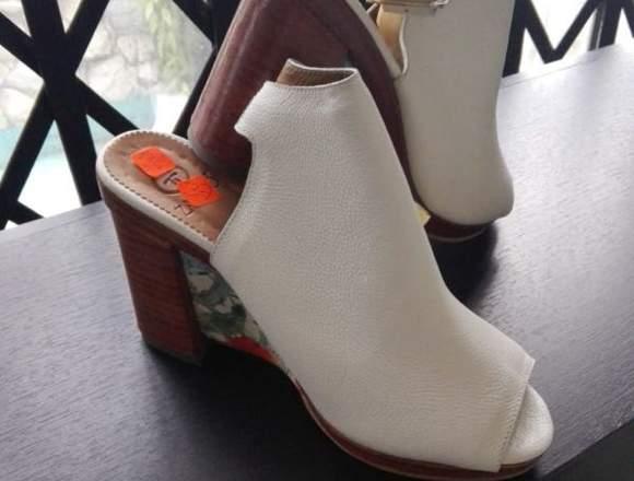 Zapatos colombianos de cuero de alta gama