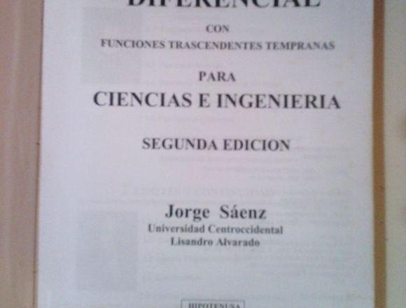Cálculo Diferencial de Jorge Sáenz, 2da Edición