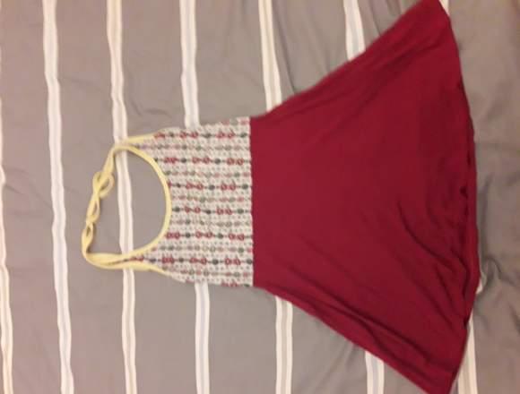 Vestido muy corto o remera larguita