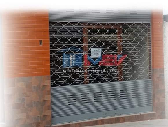 Puertas enrollables en riobamba