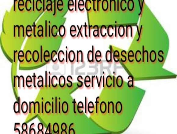 Reciclaje de chatarra electrónica y metal