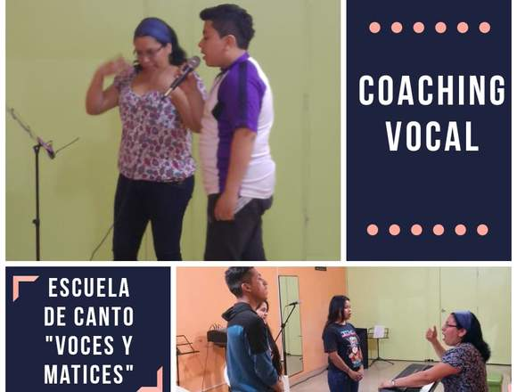 "COACHING VOCAL: E.C. ""VOCES Y MATICES"" EN COMAS"