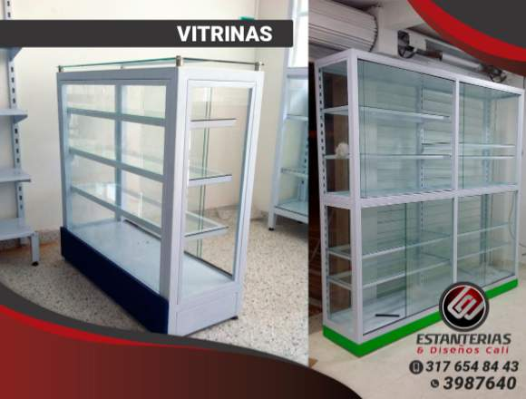 VITRINAS PARA LOCALES COMERCIALES