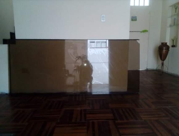 Mampara de Sala Color Bronce