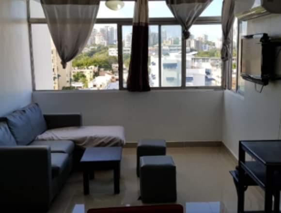 Apartamento 85 mts Gazcue Prox Malecon Center