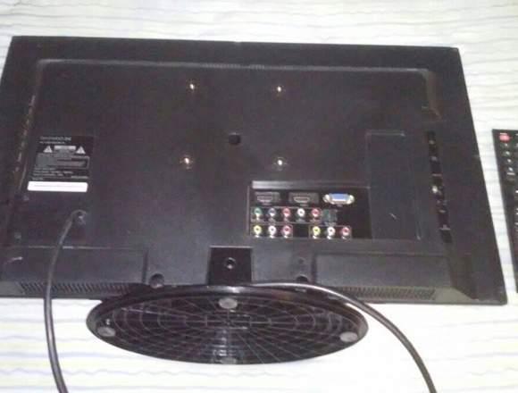 """Tv Daewoo 24"""" Led con conexión VGA"""