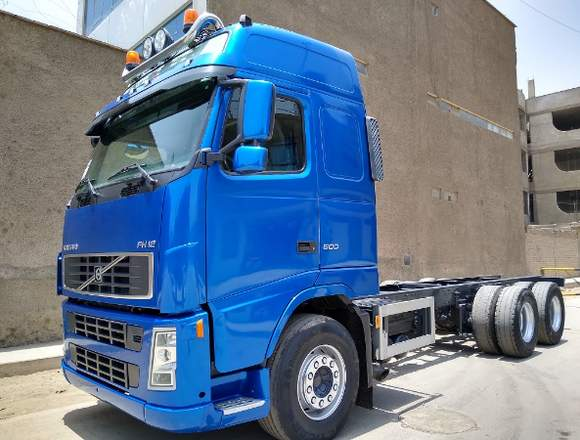 VOLVO FH12  500HP CAMION CHASIS 6X4