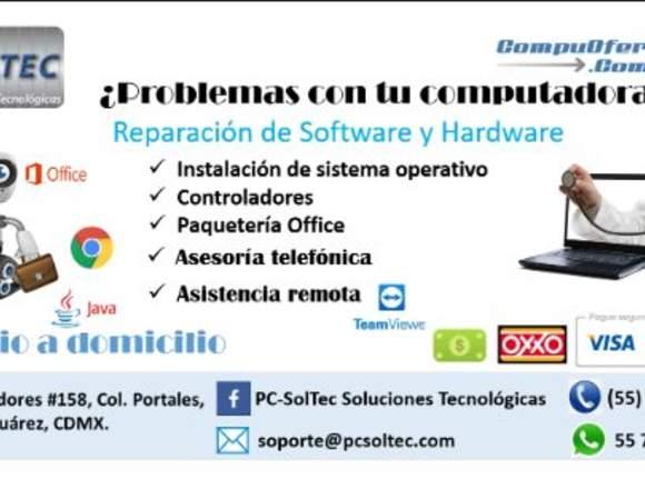 Reparación de Software y Hardware