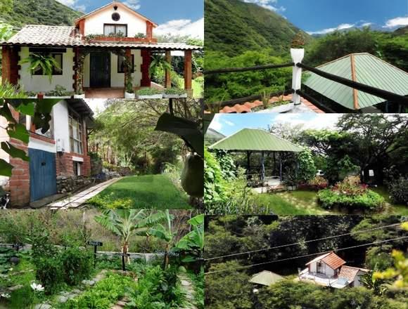 En venta casa con terreno en Vilcabamba.