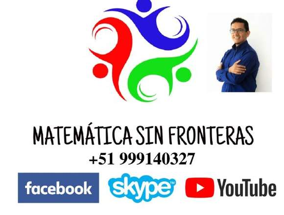 CLASES PARTICULARES DE MATEMATICA PERSONALIZADA