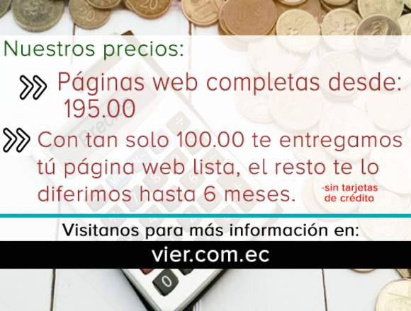 Creacion de páginas web
