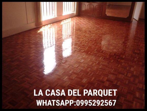 Reparación de piso de madera