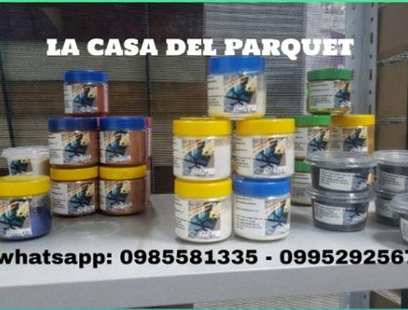 Nuevas presentaciones de resina y pigmentos
