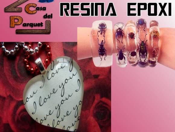 Artesanias con Resina Epoxi