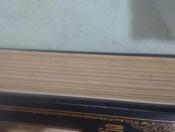 Biblia Católica versión Vulgata latina, grande bor