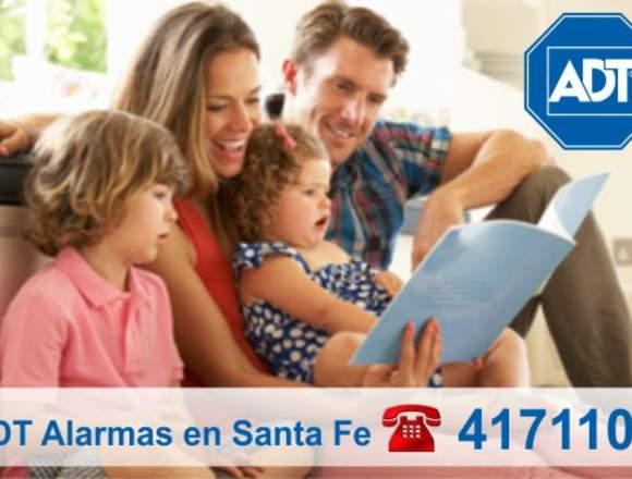 La mejor alarma monitoreada ADT -  (0342)  4171100