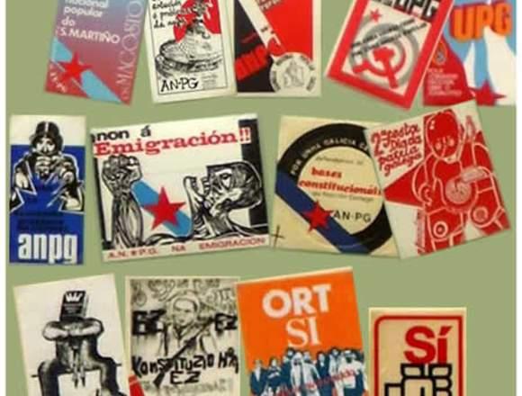 Compro pegatinas políticas años 70 y 80
