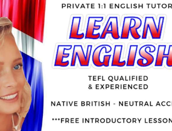 Learn English! Aprende Inglés! Primera GRATIS!