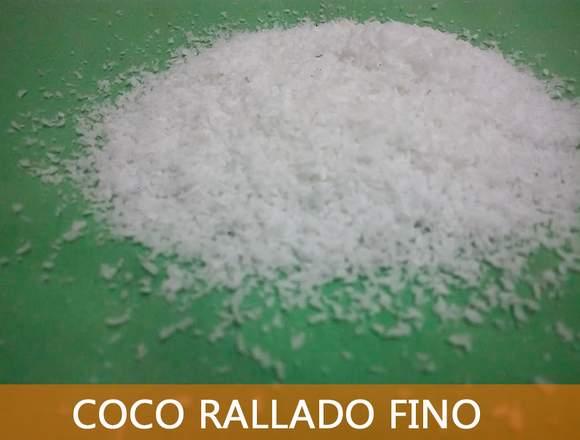 COCO RALLADO DE LA SELVA PERUANA