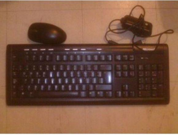 Teclado Y Mouse Inalámbrico Marca Microsoft