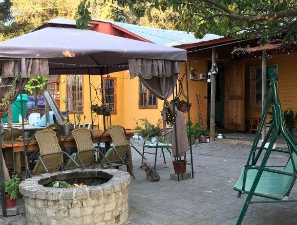 Parcela para turismo cabañas comuna Sto. Domingo