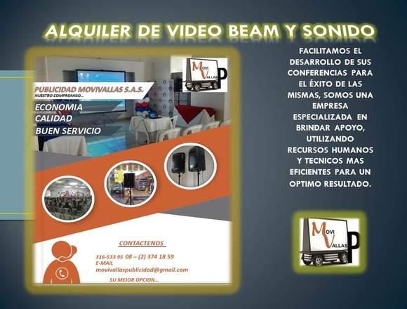 ALQUILER DE VIDEOBEAM EN CALI