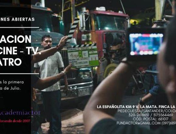 CURSO TÉCNICO EN ACTUACIÓN PARA CINE,TV Y TEATRO.