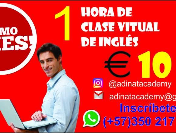 Clases virtuales de Inglés con profesores nativos
