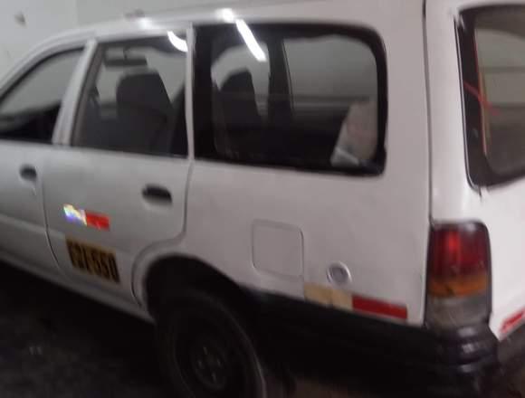 Vendo Bonito Taxi Blanco GLP